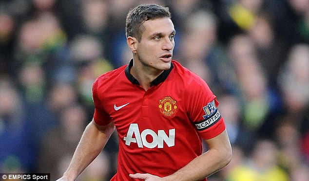 On his way? Nemanja Vidic is understood to have been contacted by several clubs about a move