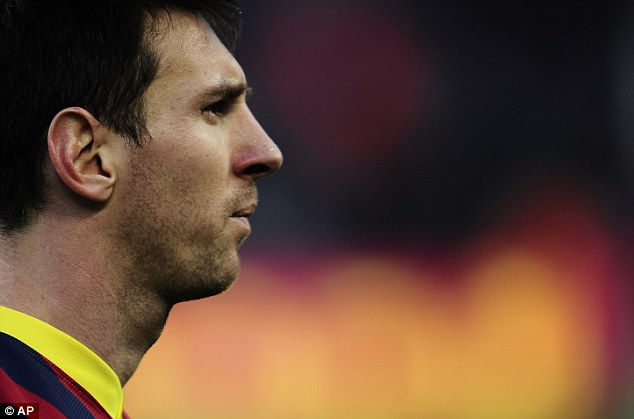 One blotch: The four-time Ballon d'Or winner is still criticised for his lack of goals in the World Cup