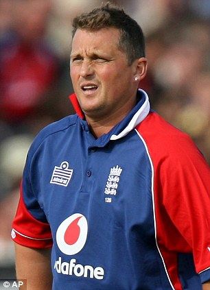Backing: Former England bowler Darren Gough has been voicing his support for KP