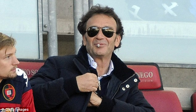 Decision time: Football League chief Shaun Harvey must decide whether prospective Leeds owner Massimo Cellino (above) passes the owners and directors test