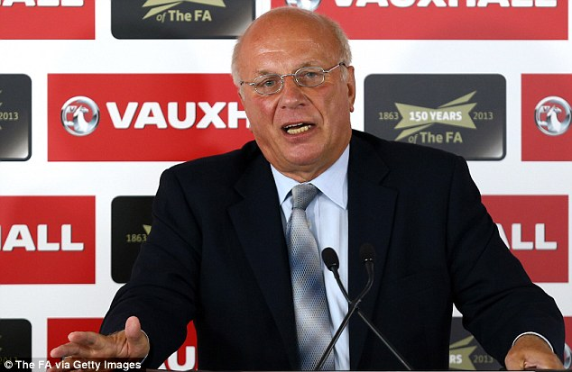 Investigation: FA chairman Greg Dyke is writing up his findings of his England Commission