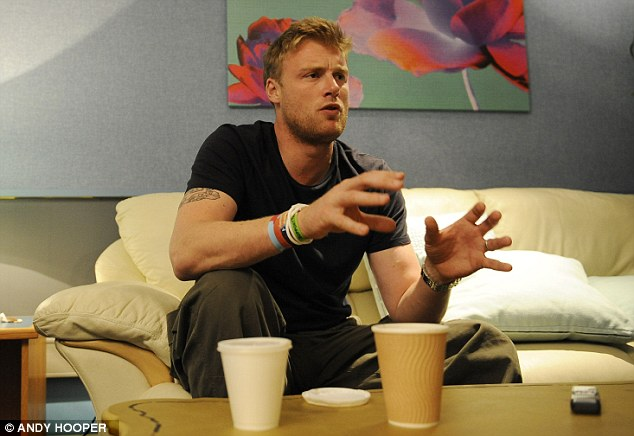 Explanation: Flintoff hasn't said anything all winter but felt he needed to talk about England's Ashes debacle