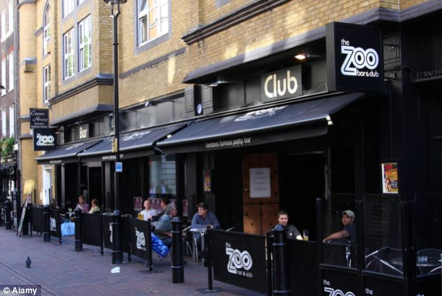 Mr Halpin was last been scene leaving Zoo Bar to get some food. He was wearing only a t-shirt and jeans, despite freezing temperatures