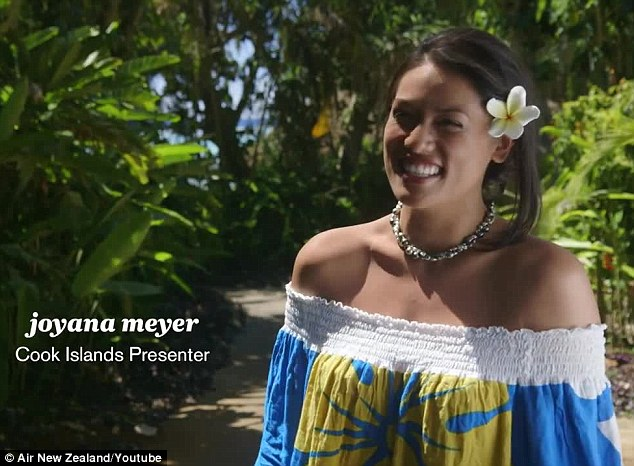'The boys have been excited!' Joyana Meyer, a presenter for the Cook Islands, revealed that the local men had been earnestly looking forward to the production