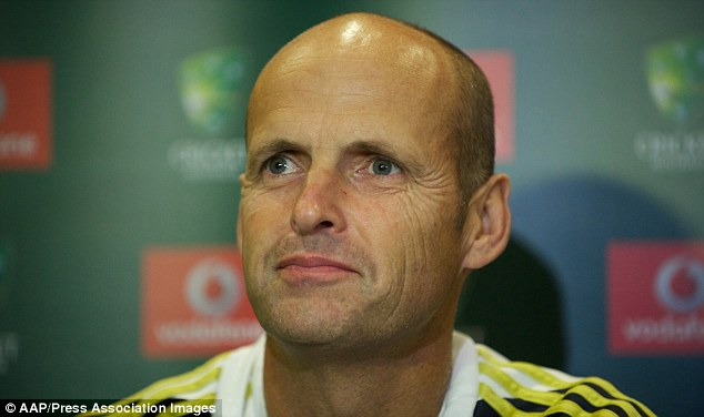 Out of the running: Gary Kirsten has ruled himself out of the England team director job