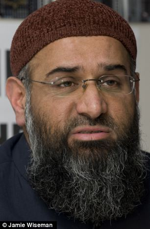 Worrying claim: Notorious 'hate-preacher' Anjem Choudary claims the number of Britons fighting in Syria is 'in the thousands'