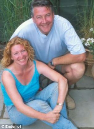 Natalie is the daughter of television star Tommy Walsh - pictured on Ground Force with co-presenter Charlie Dimmock