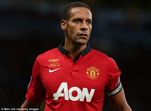 On the way out? The possible departure of Rio Ferdinand could mean Manchester United have to go and buy...