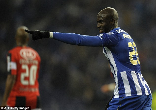 Big man: Eliaquim Mangala has built a reputation as one of Europe's finest, but Moyes has reservations about him so Manchester City could steal in