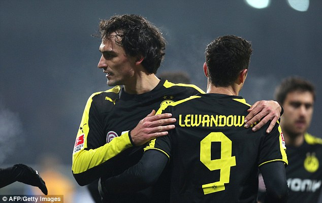 German star: Mats Hummels is an attractive proposition but Dortmund aren't keen to sell any more players