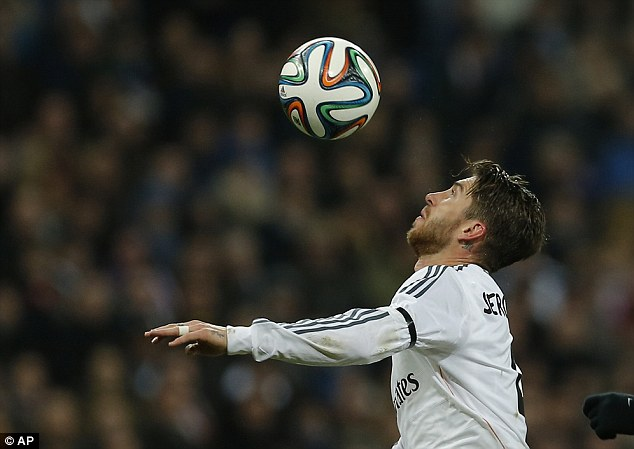 Risk: Sergio Ramos has a great pedigree, but also a dodgy temper and a £30m price tag