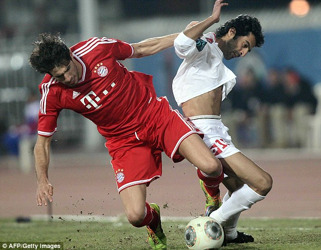 Not easy: Javi Martinez recently joined Bayern Munich for a big fee so may not be ready to jump ship