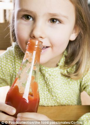 Covering children's vegetables in ketchup actually does make them more likely to eat healthily in future