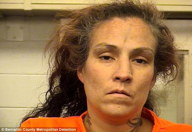 In custody: Mother Synthia Varela Casaus, 38, was taken into custody after admitting the boy died when she kicked him, police said