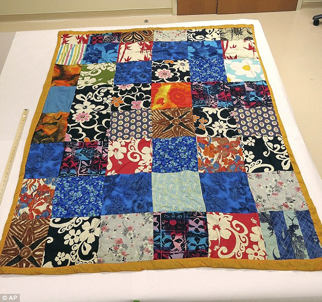 New evidence: Police believe whoever recognizes this quilt could know who murdered Cathy Zimmer 25 years ago