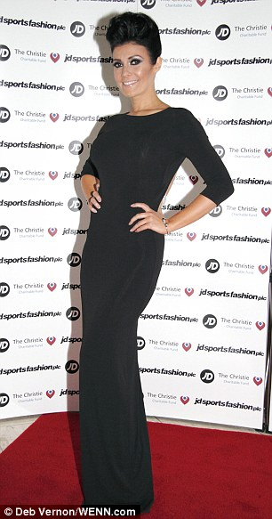Deja vu? Kym at the JD Diamond Charity Ball hosted by JD Sports at the Hilton Hotel Manchester