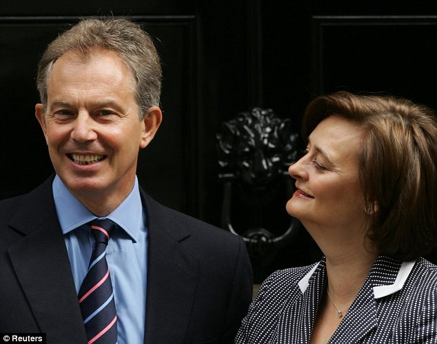 Wronged: Cherie Blair can't be blamed if she feels humiliated by her husband