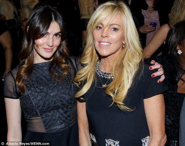 Mommy's girl: It was a fun mother/daughter day out for the duo as they took in the Nicole Miller show at NYFW