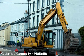 For sale: The 'Power Slide' digger sold off