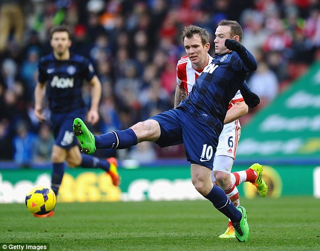Staying put? Realisically, Rooney may not pass the record until the 2015-16 season
