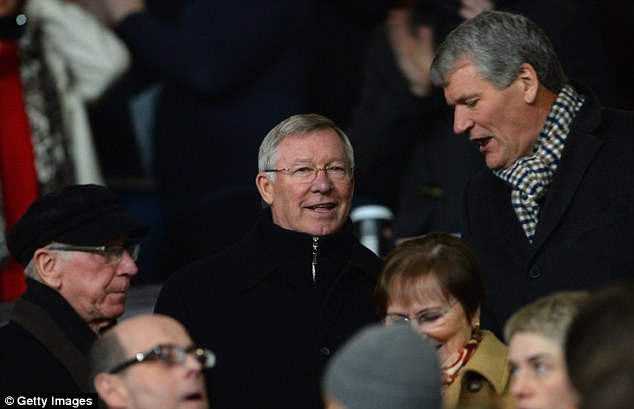 Man in the stands: Sir Alex Ferguson could do a big TV interview now he is in retirement