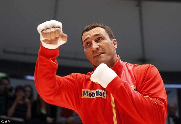 Clean slate: Tyson Fury believes he has a chance against Wladimir Klitschko because he has never been intimidating sparring against him