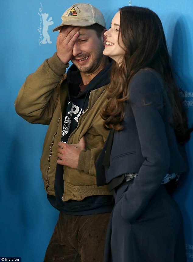 Not his best day... Shia looked like he really didn't want to be promoting his film at that moment