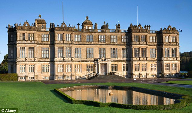 Stately home: The grounds of Longleat House, pictured, host one of Britain's leading wildlife collections