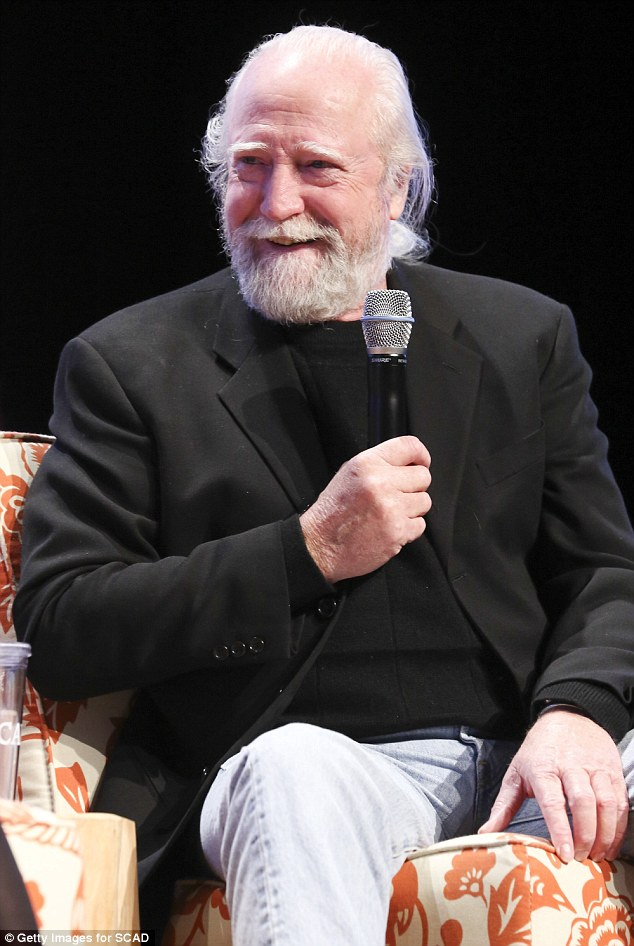 Welcome back! Scott's character Hershel Greene was killed off in the last season of the show
