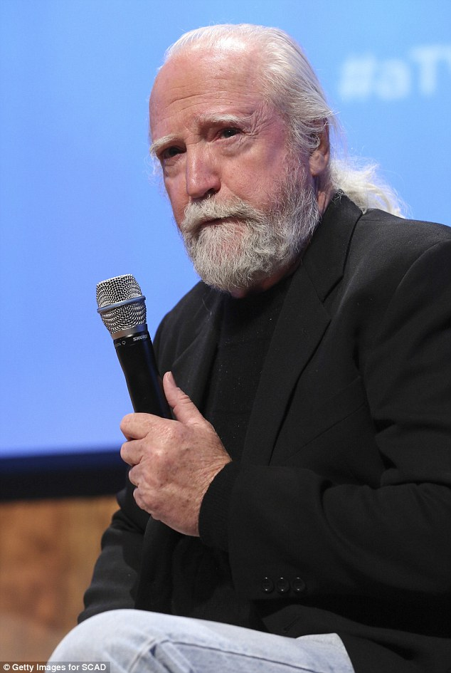 Wisdom from beyond? The bearded man spoke before the audience of fans