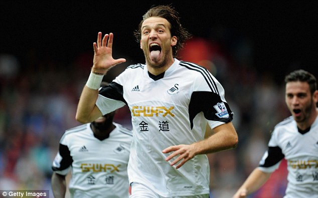 Key man: Michu is a game change and his injury has affected Swansea