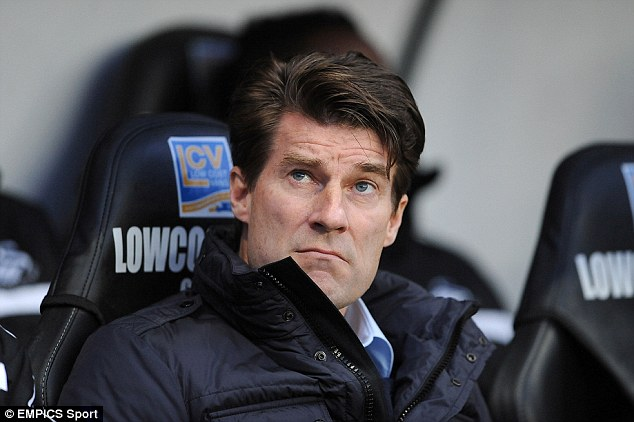 Surprise: Swansea sacking Michael Laudrup after he won the Carling Cup and lead the team into the Europa League was a surprise