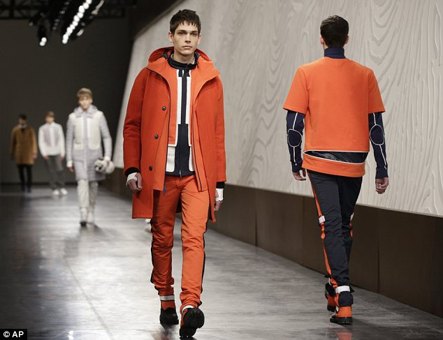 For the men: The label's menswear designs were a bit stronger than their creations for women, and presented a distinct athletic appeal