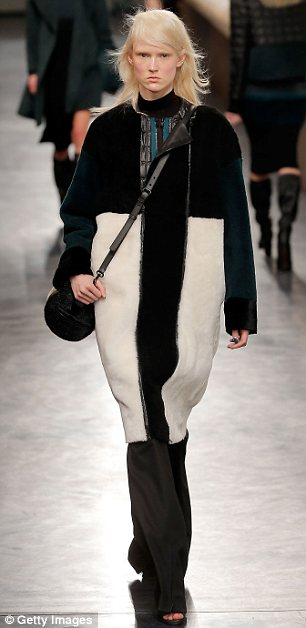 Overcoat affair: The label created many new outerwear designs for its fall collection