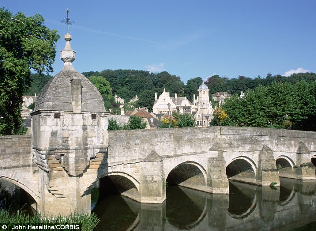 A short drive away: the beautiful town of Bradford-on-Avon