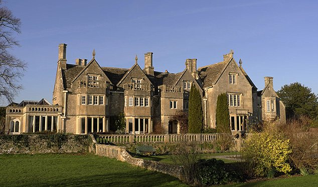 Historic beauty: The Jacobean facade at Woolley Grange