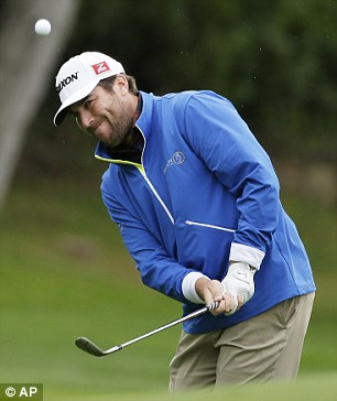 Closed in: Jim Renner began the day five under and birdied five of the back nine to move into contention