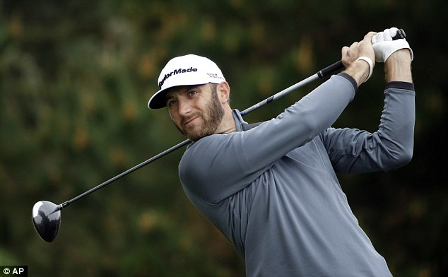 Close: Johnson scored six-under-par round of 66, but narrowly missed out on forcing a play-off