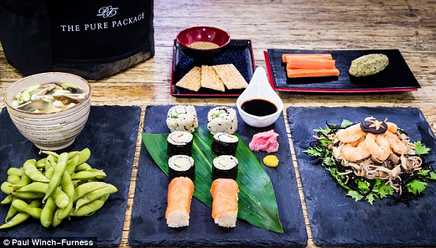 Most delicious: Pure Package is a diet based on Japanese cuisine, including Miso soup for breakfast