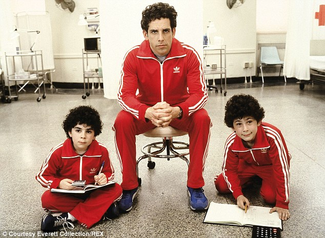 Inspiration? In the 2001 hit, Ben Stiller and his onscreen children - Uzi and Ari Tennenbaum - wore nothing but the bright red matching tracksuits