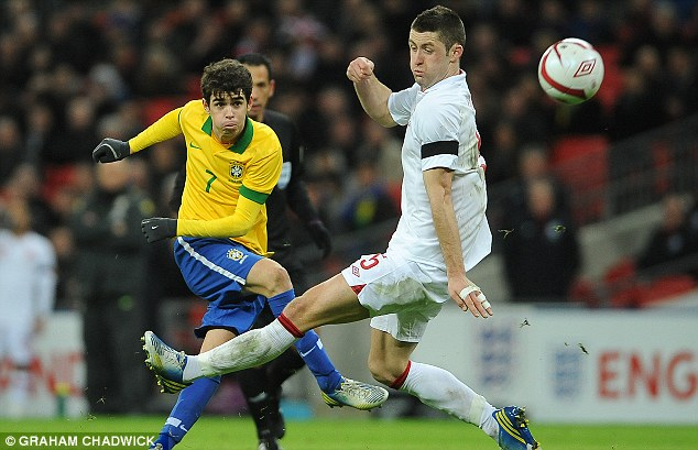 Adamant: Oscar says Argentina will not be allowed to win the World Cup in Brazil