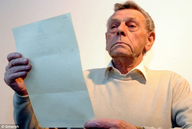 Frederick Bevan, 77, says he has been waiting eight years for a hernia operation on the NHS