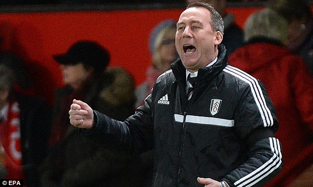Momentum: Rene Meulensteen will surely hope the game will be on after Fulham's draw with United
