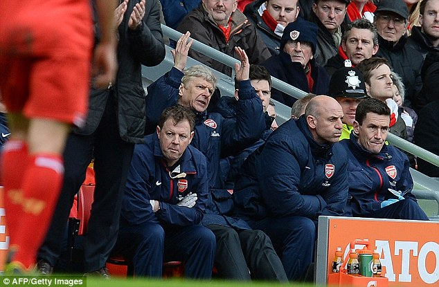 February blues: Wenger's side have always struggled in February, and have a tough month to endure again