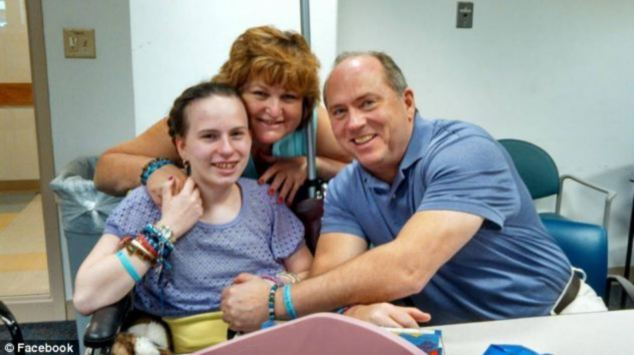 Fears: Lou and Linda say Justina 'is barely recognizable as her health has deteriorated so badly'