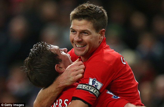 Certs: Liverpool boss Brendan Rodgers believes Steven Gerrard (right) and Henderson should start for England