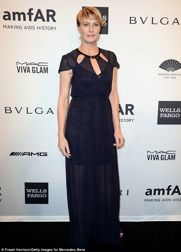 'You bet. Everybody f***ing does it!' Robin Wright just revealed that her youthful glow has a lot to do with getting 'sprinkles' of Botox twice a year