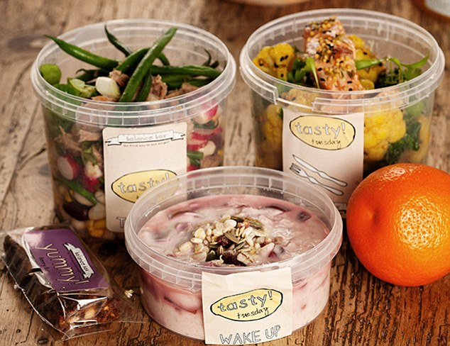 Clean and fresh: Ashley said that every Balance Box meal tasted like it had come from a farm shop