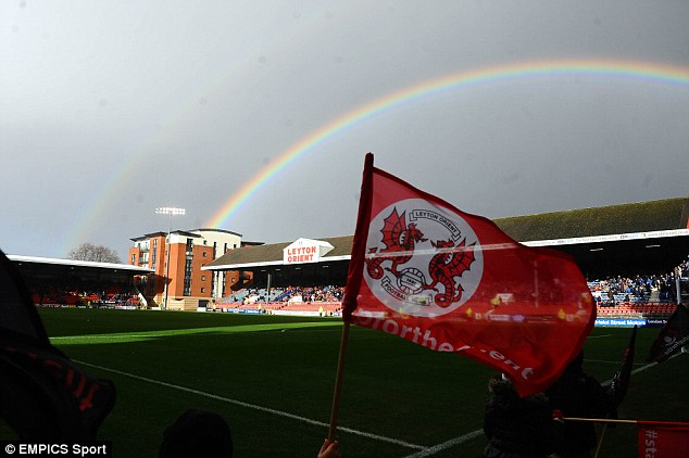 Pot of gold? Orient remain well-placed for promotion into the Championship ahead of a run of four home matches out of the next five