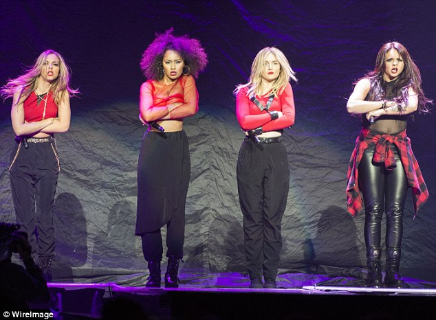 Not just little girls: The four singers were thrown together during X Factor 2011's bootcamp but have made a great success of themselves